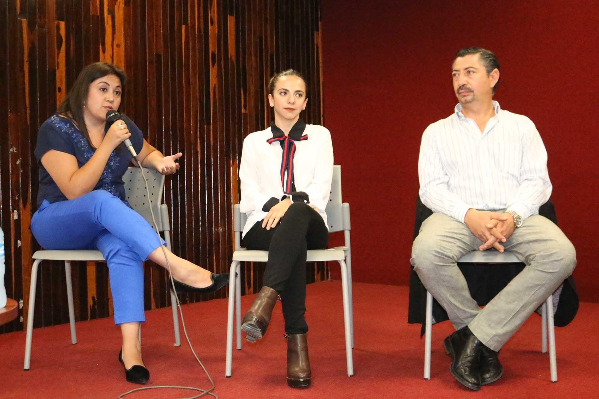Panel emprendedores