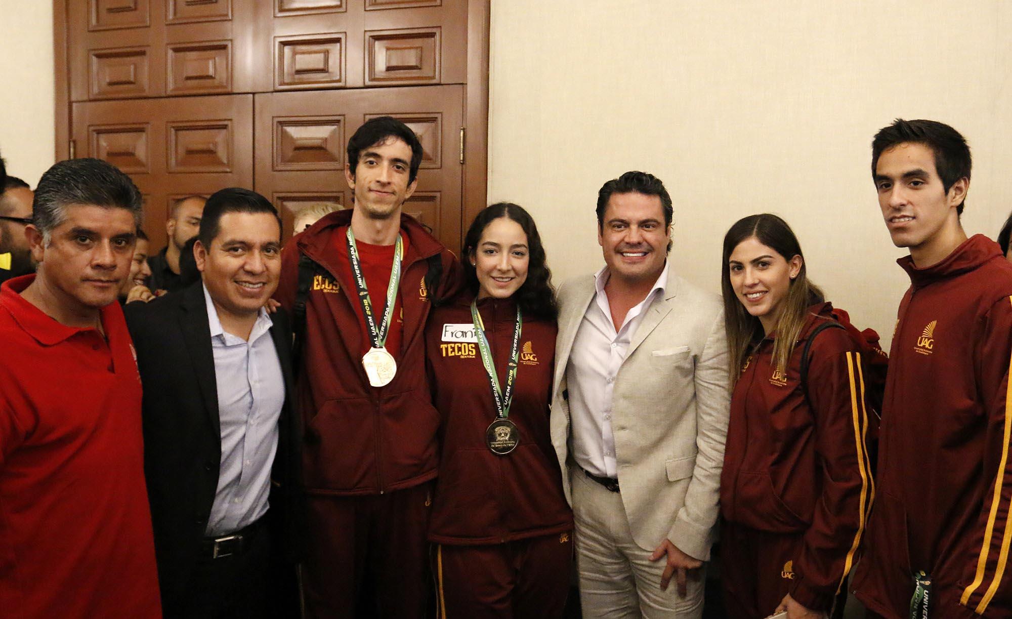 La UAG obtuvo cuatro medallas en la Universiada Nacional