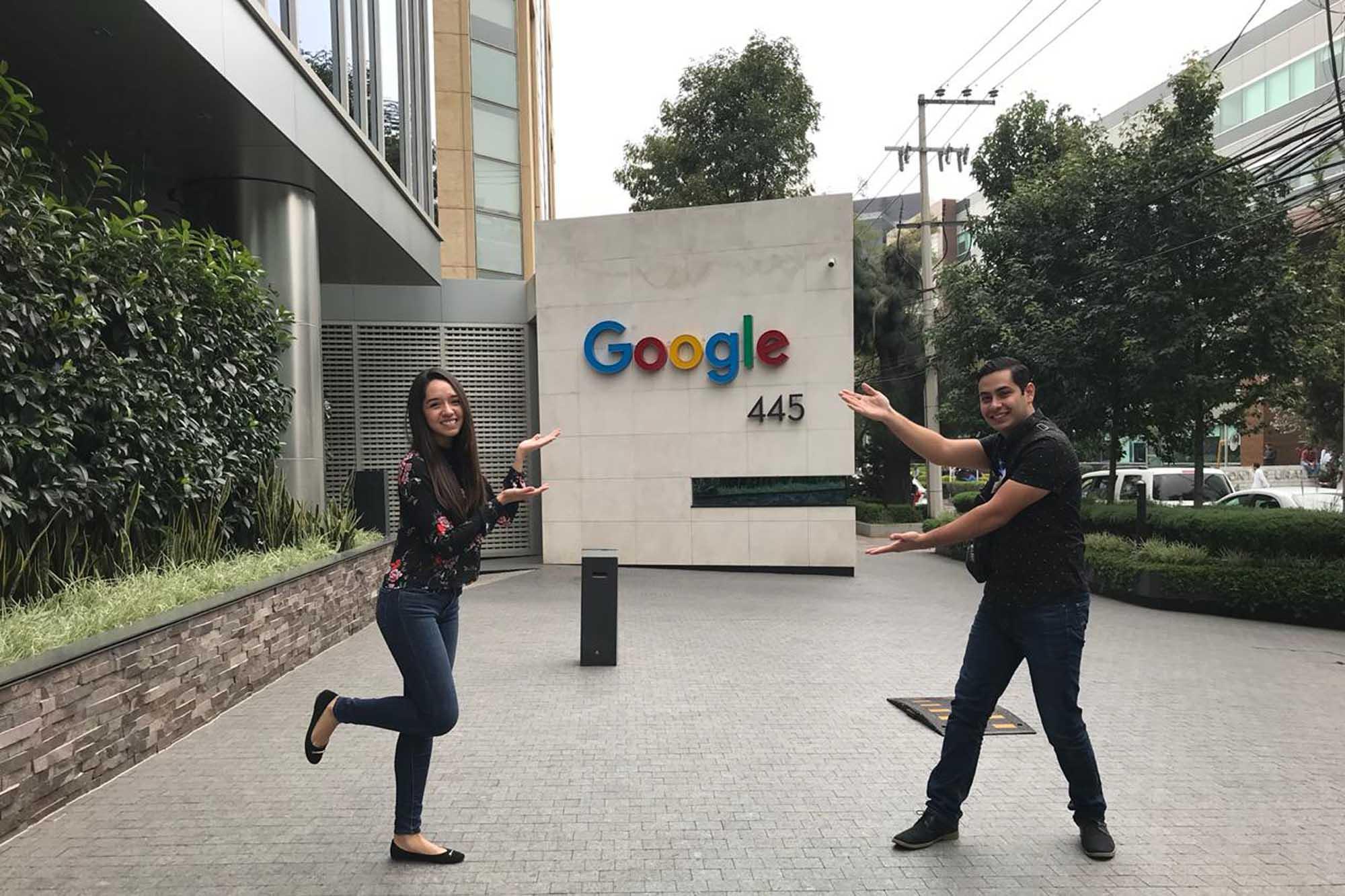 Alumnos en Google