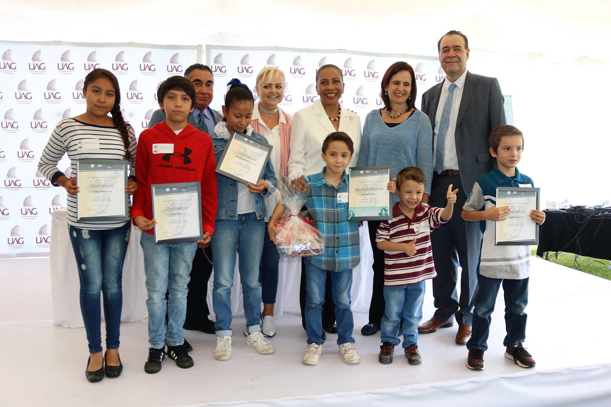 Premiación IJAS niños