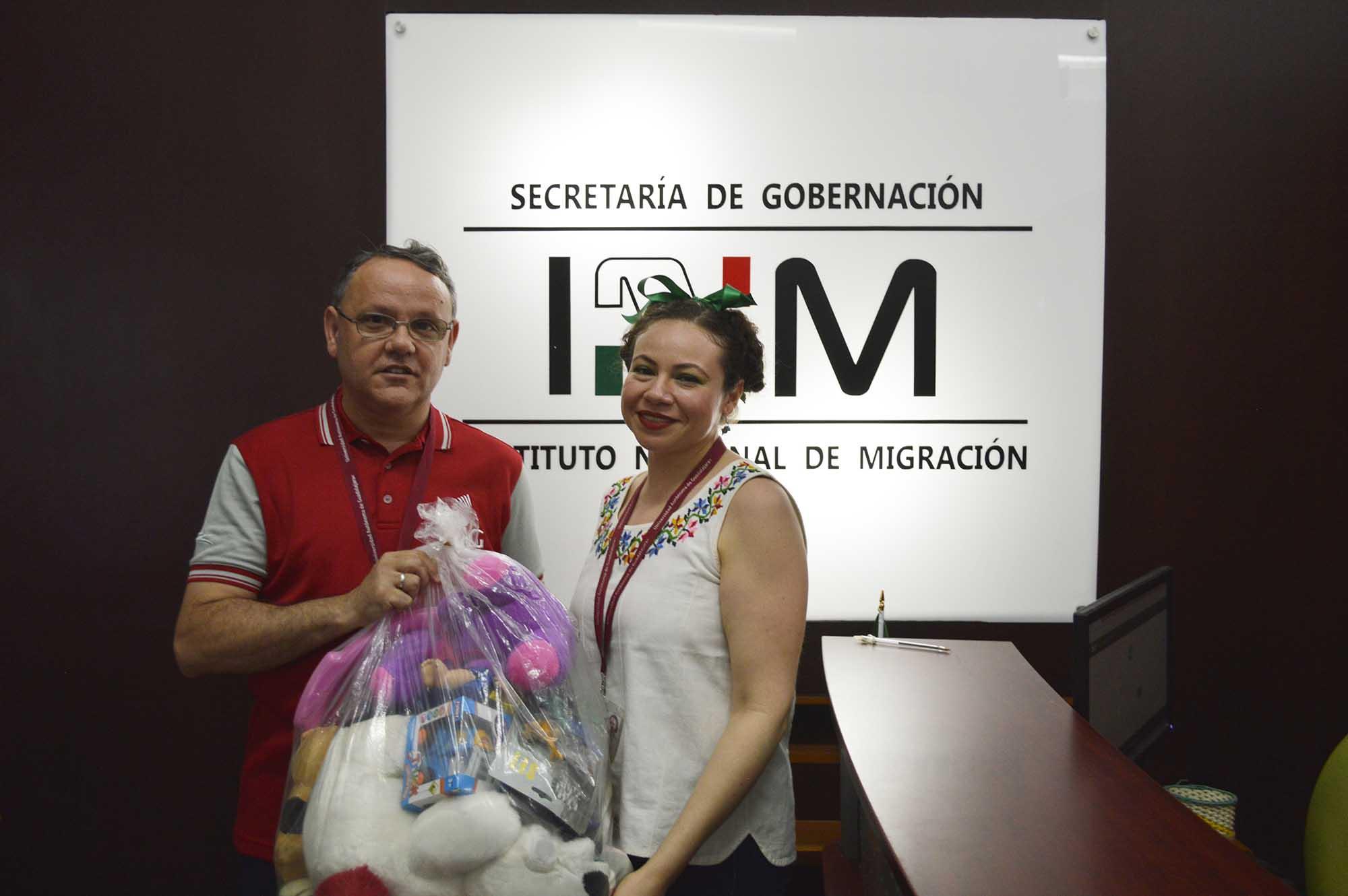 Donativo migrantes 260919