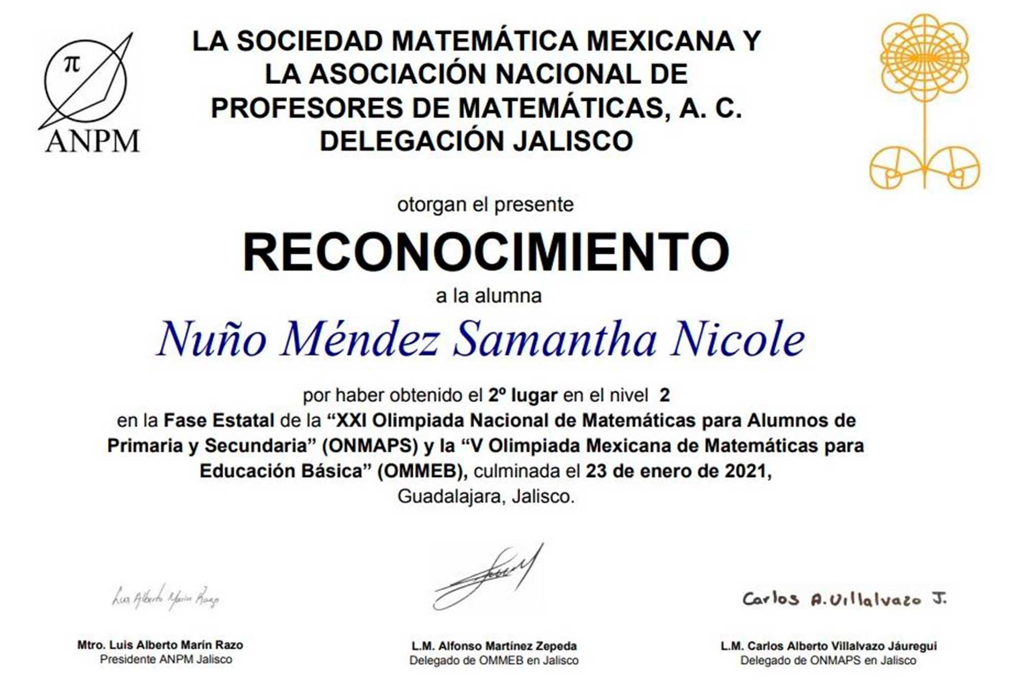 olimpiada de matemáticas2 090221